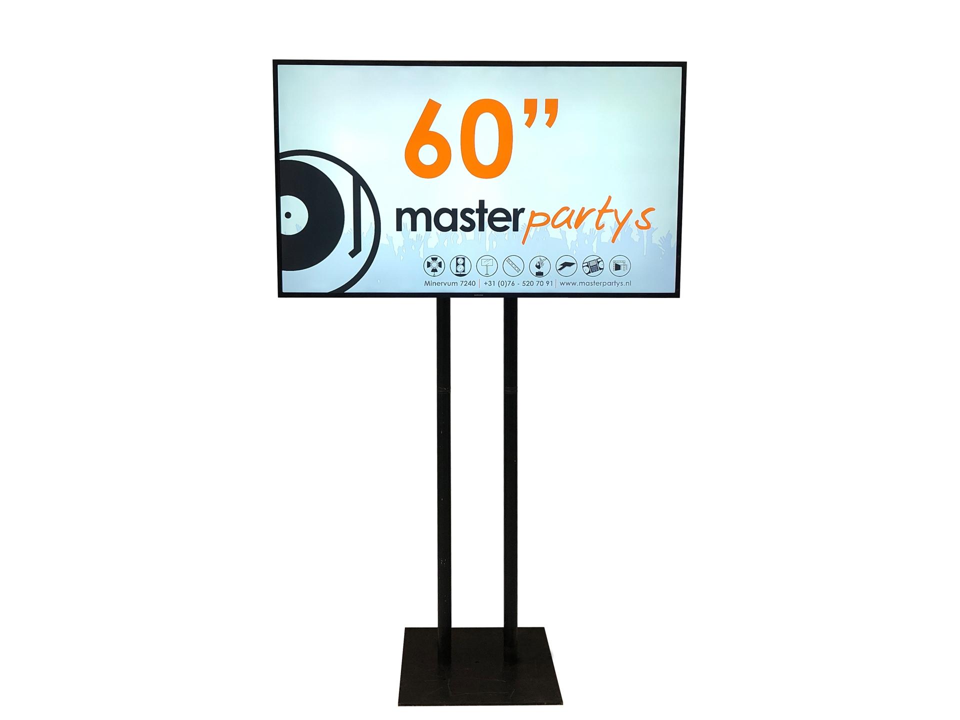 "Master Partys led tv scherm 60"" huren"