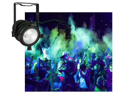 Master Partys led blacklight huren