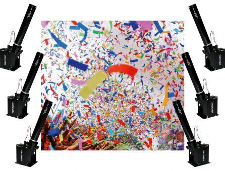 Master Partys confetti kanon set 3 huren