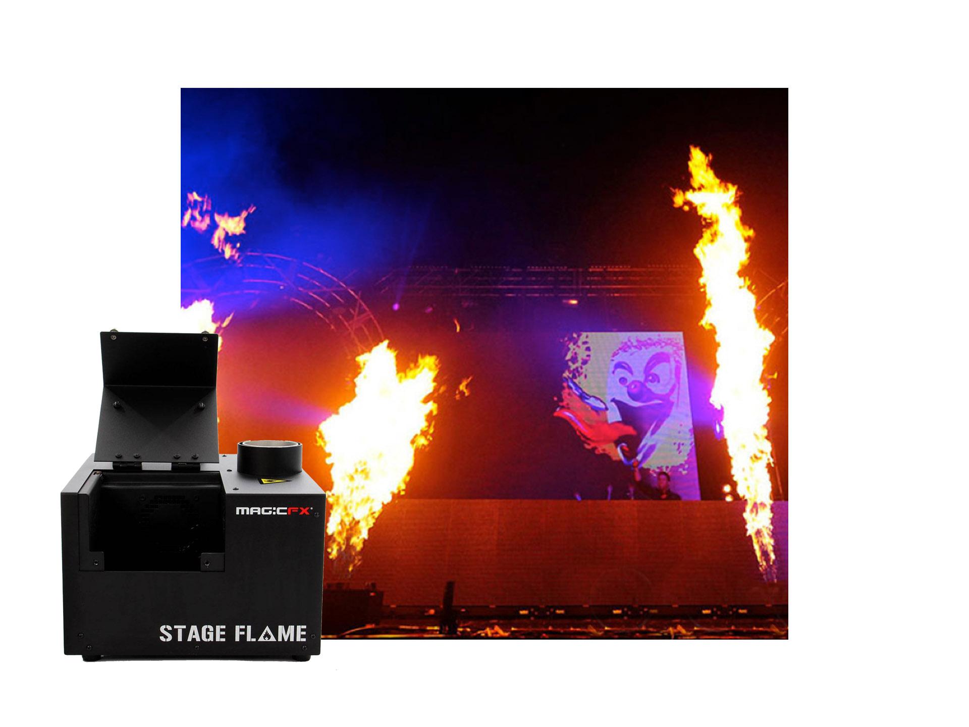 Master Partys flame set 1 huren