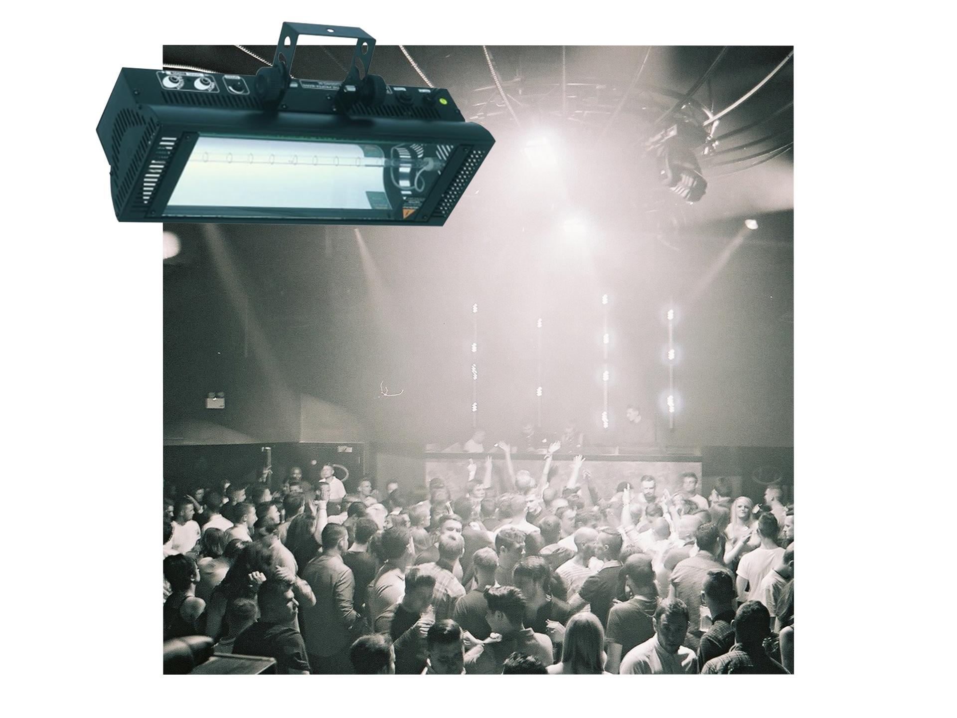 Master Partys Stroboscoop lichteffect huren