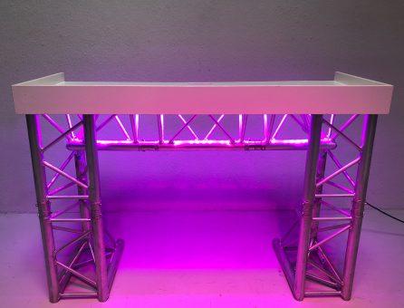 Master Partys truss DJ booth 1,5m huren