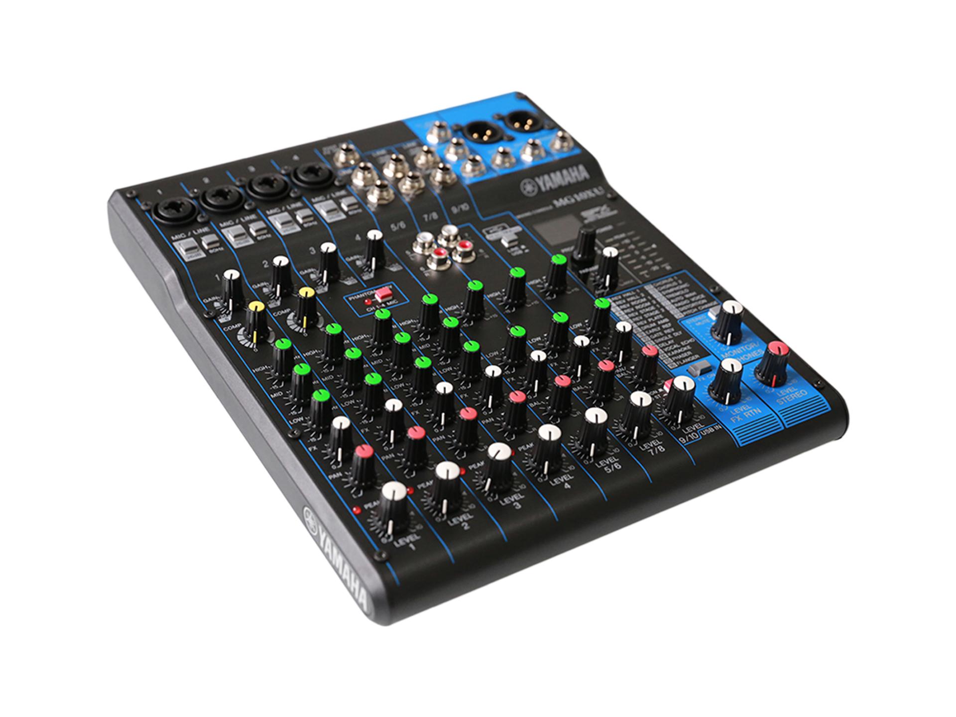 Master Partys PA-mixer 10 kanalen huren