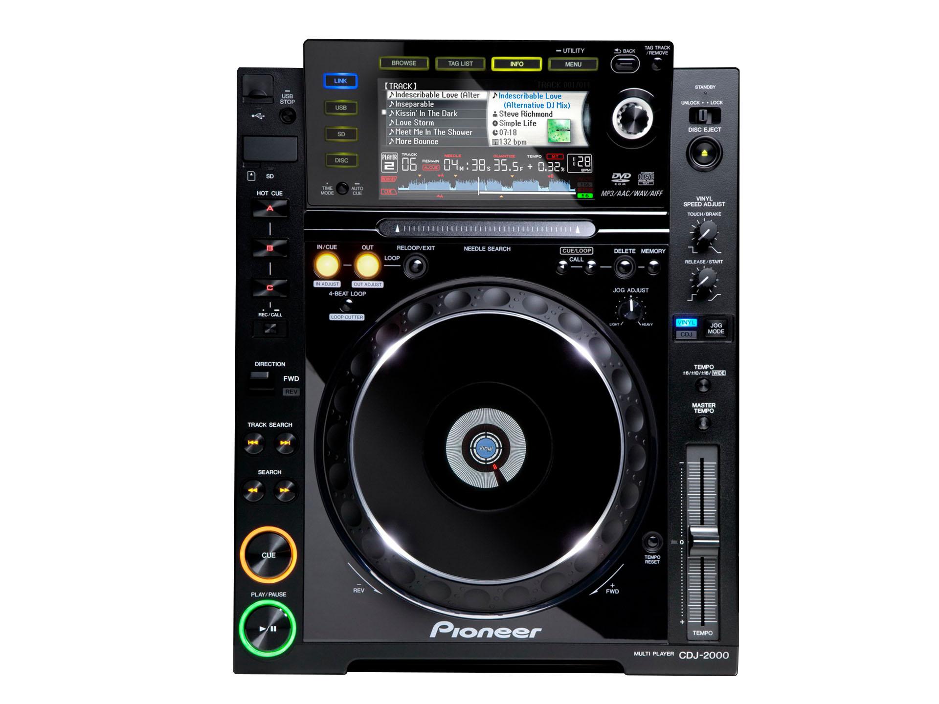 Master Partys Pioneer CDJ-2000 huren
