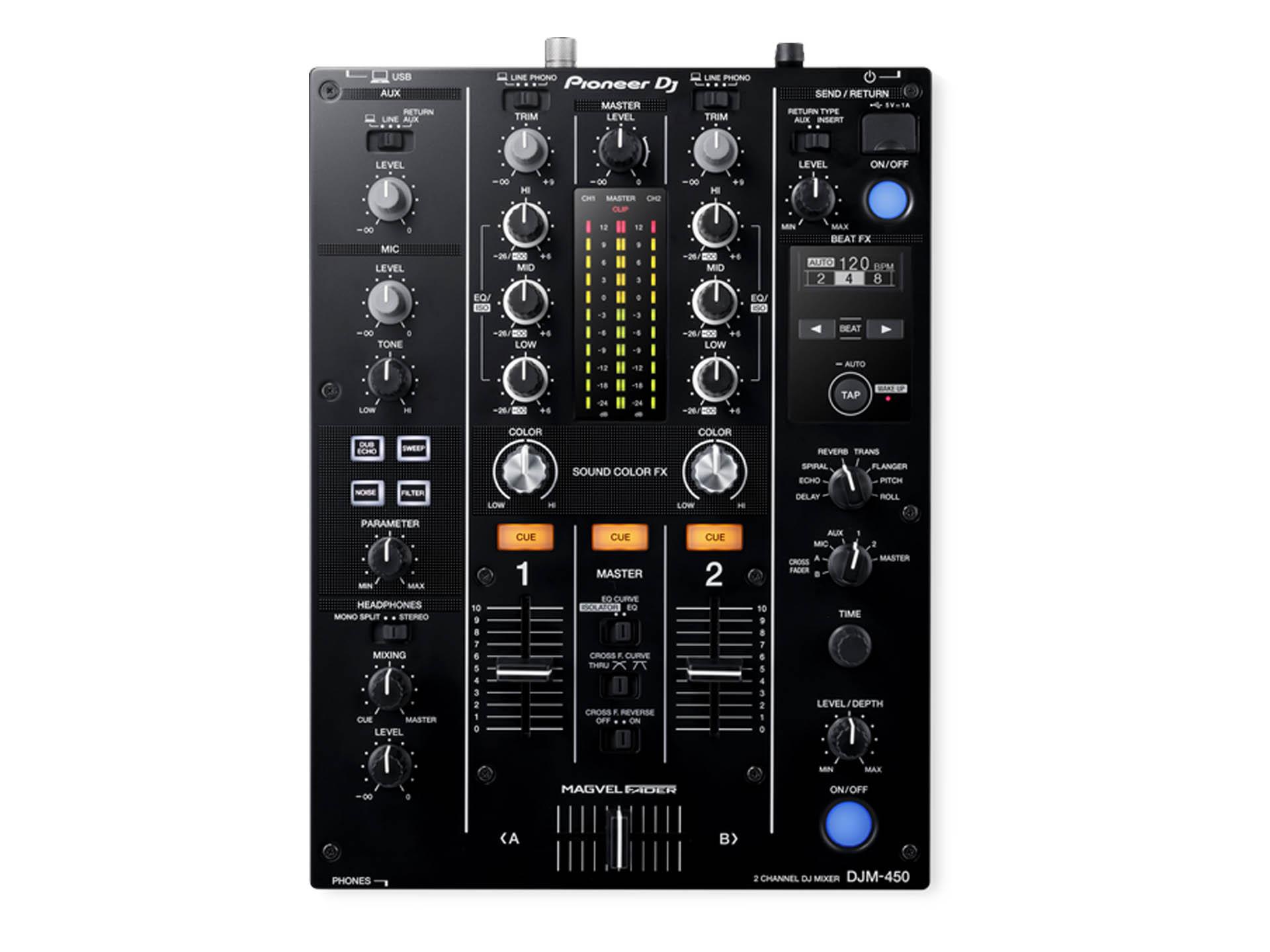 Master Partys Pioneer DJM-450 huren