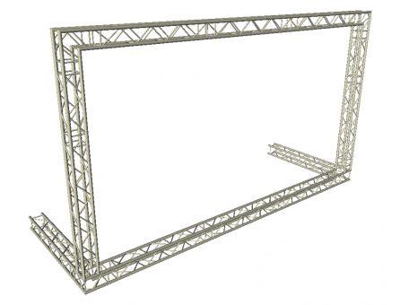 Master Partys truss outdoor spandoek frame huren