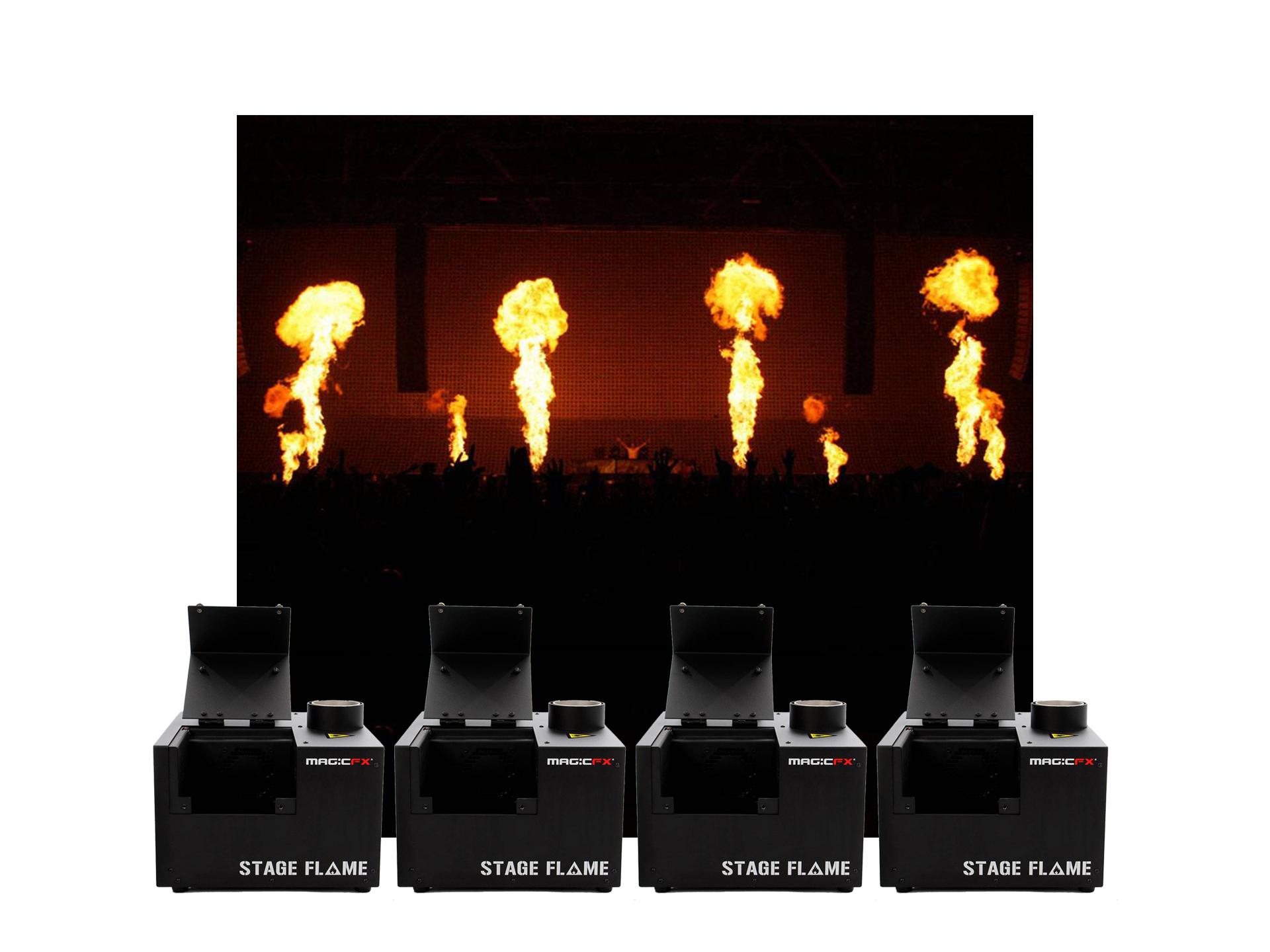 Master Partys flame set 3 huren