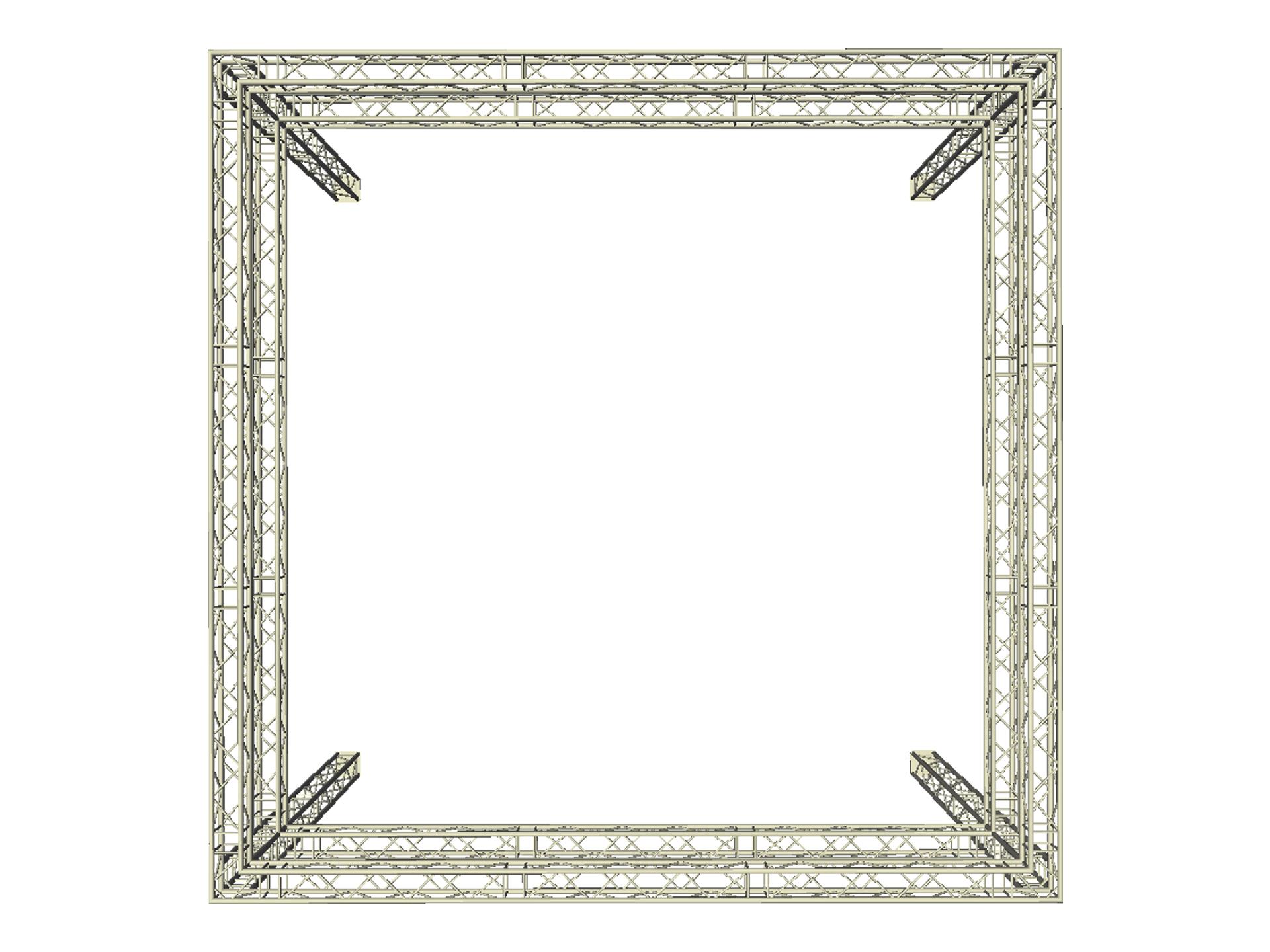 Master Partys truss carré met 360 banner huren