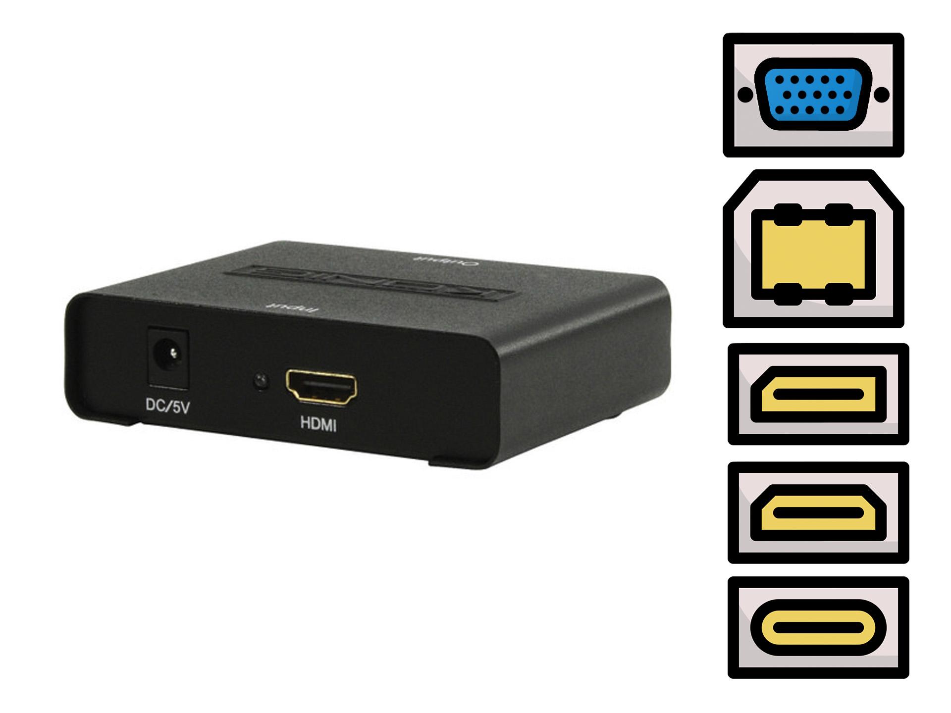 Master Partys HDMI converter huren