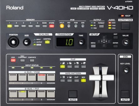 Master Partys Roland V40-HD huren