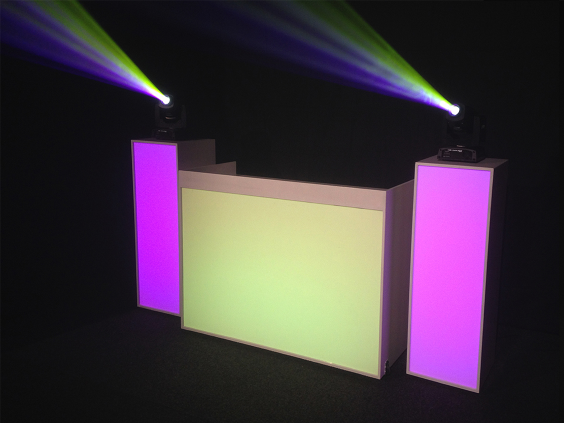 Master Partys led booth huren