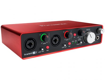 Master Partys audio interface huren
