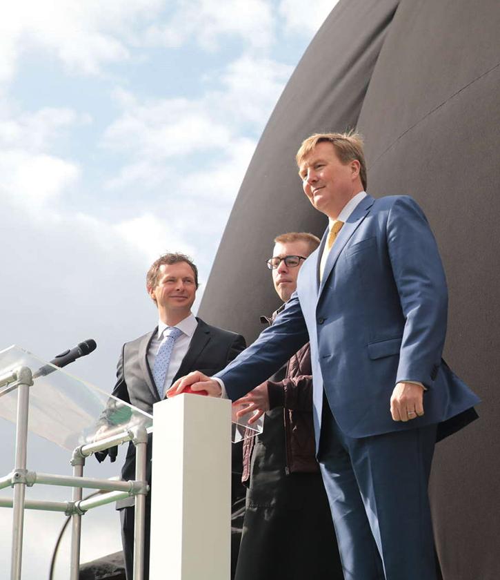 Master Partys Koninklijke opening A2-tunnel