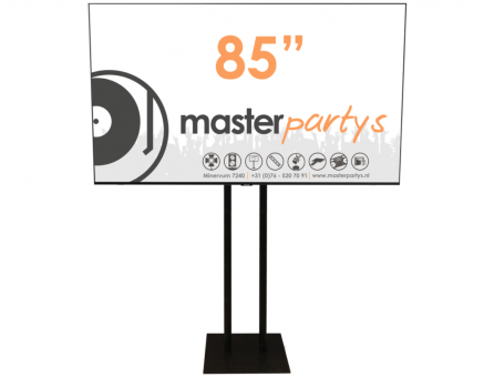 "Master Partys led tv scherm 85"" huren"