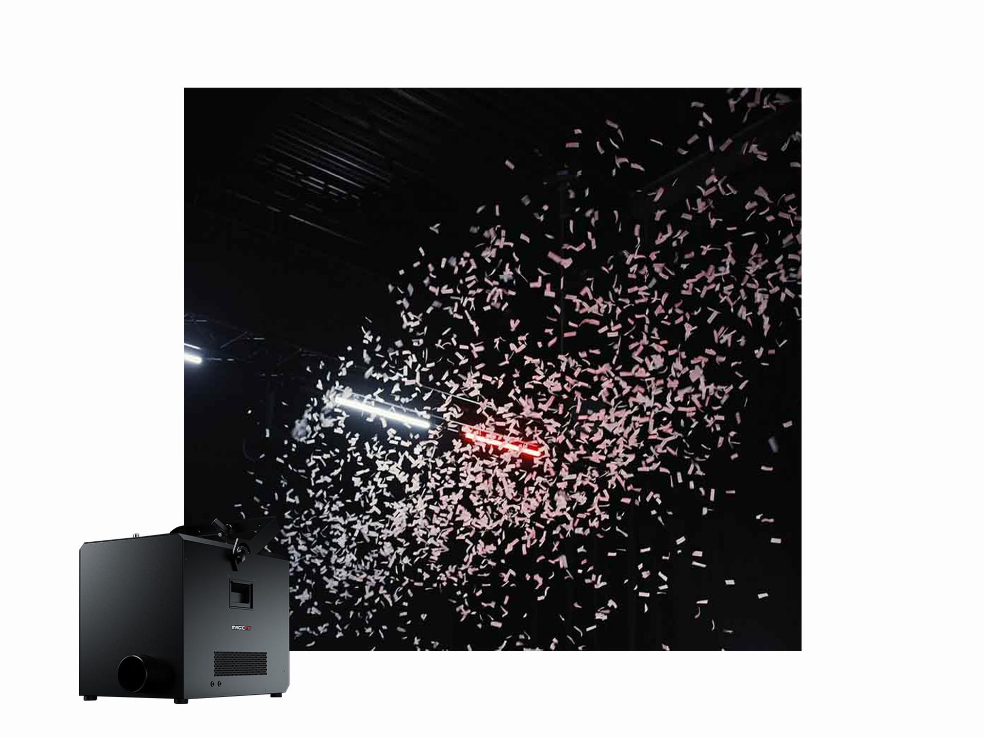 Master Partys confetti blower set huren